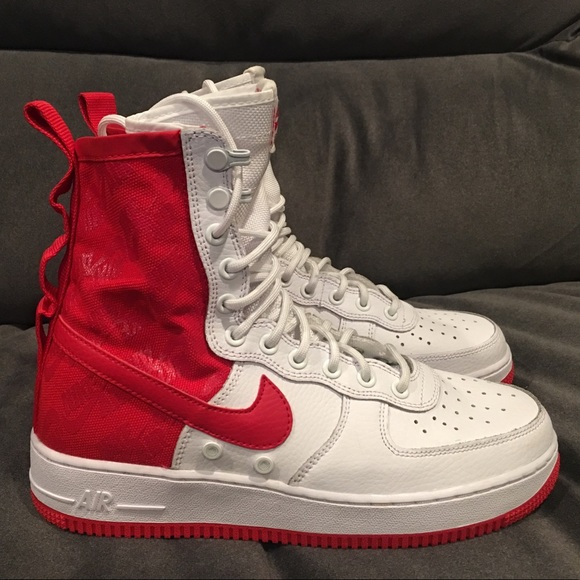 e7b994c84 Nike Shoes | Sfaf1 High Air Force 1 University Red Size 8 | Poshmark
